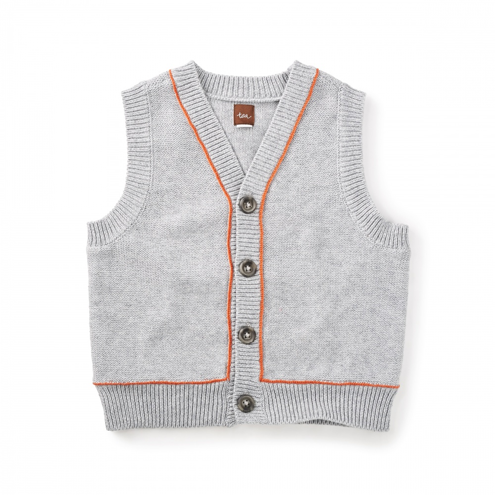 Fitzroy Sweater Vest | Tea Collection