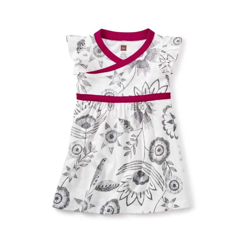 Everlasting Wrap Neck Baby Dress