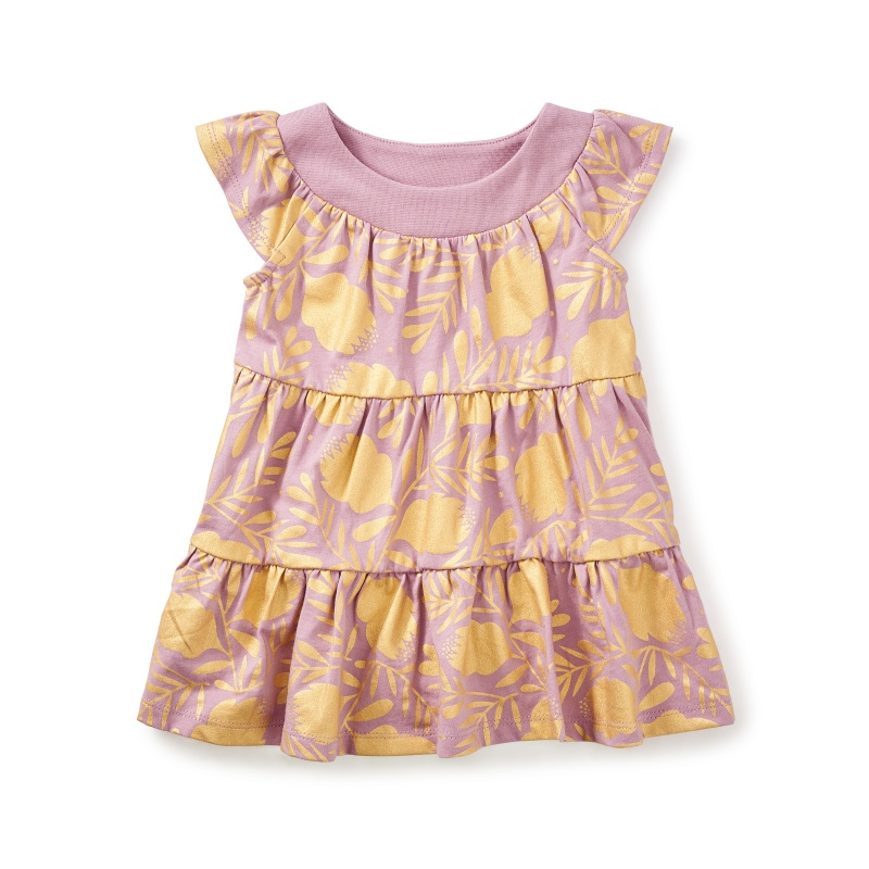 Honey Myrtle Twirl Baby Dress