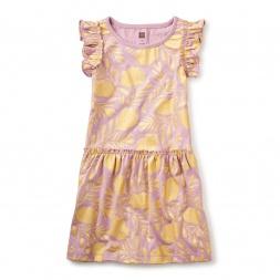 Honey Myrtle Flutter Dress