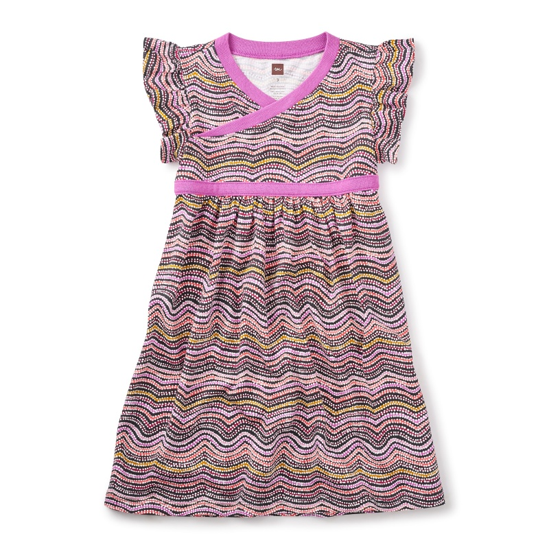 Fire Country Dreaming Wrap Neck Dress
