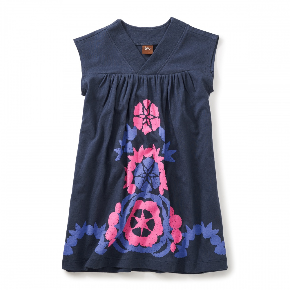 Wisteria Graphic Dress