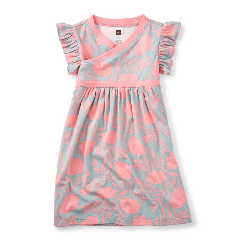 Banksia Wrap Neck Dress