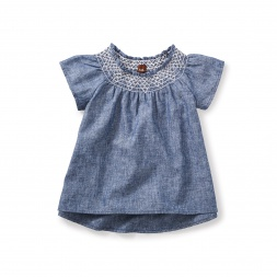 Skygarden Smocked Top