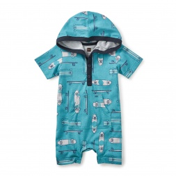 On Decks Hooded Romper