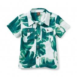 Palm Buttoned Shirt