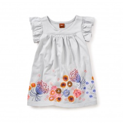 Tara Wrap Neck Baby Dress