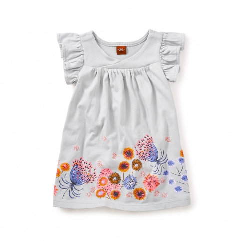Tara Wrap Neck Baby Dress
