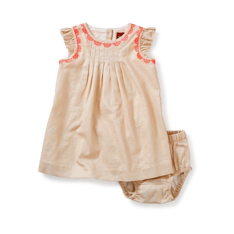 Victoria Embroidered Baby Dress