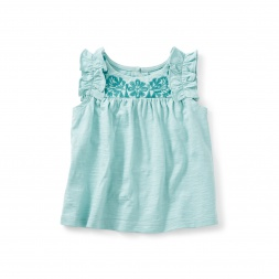 Myrtle Embroidered Top