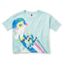 Princess Parrot Grphic Box Tee