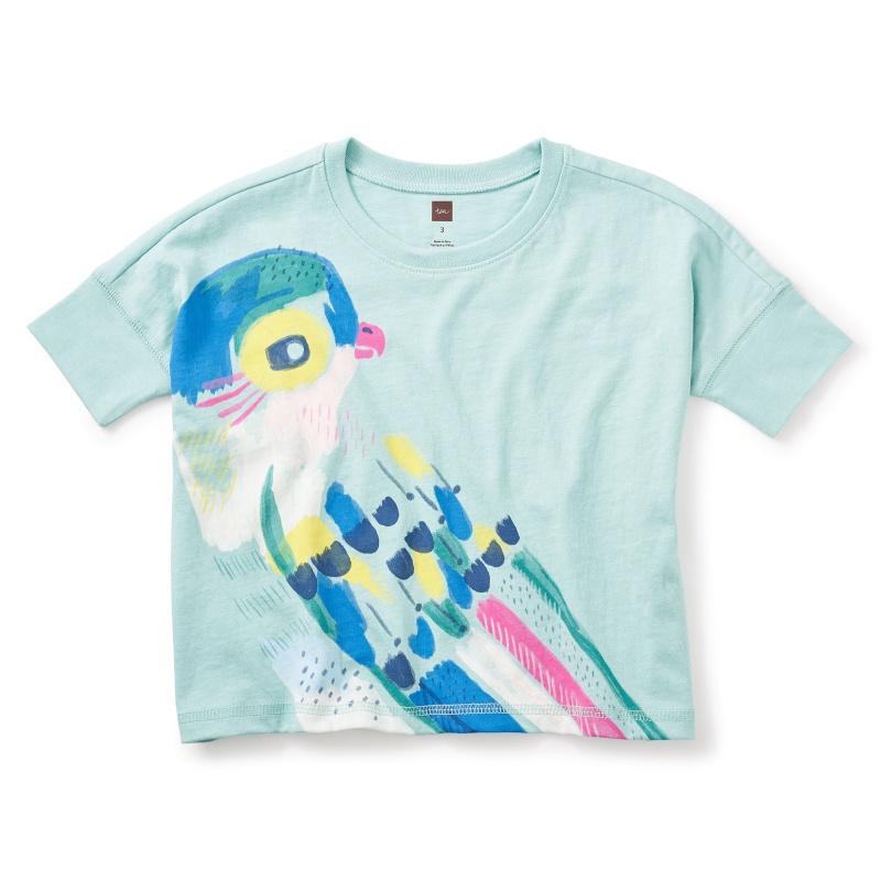 Princess Parrot Graphic Box Tee