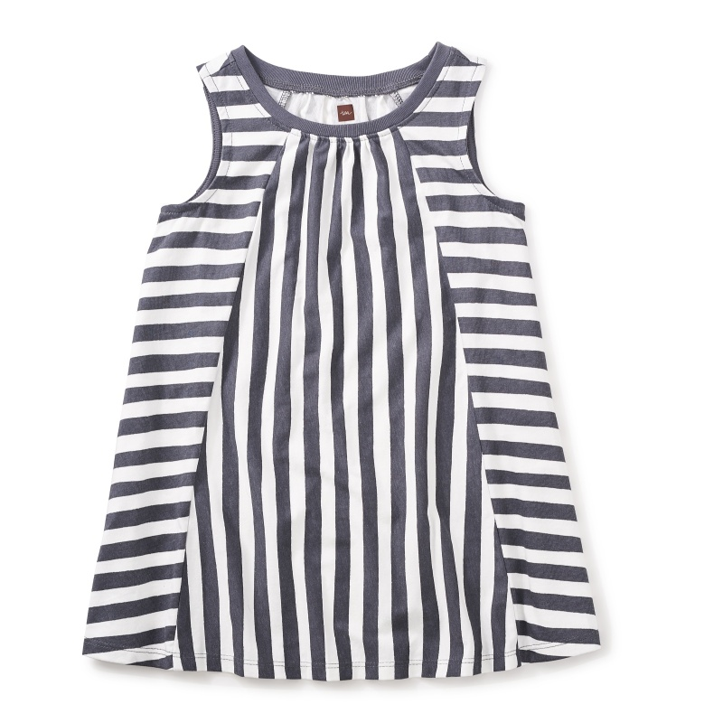 Stripe Trapeze Dress