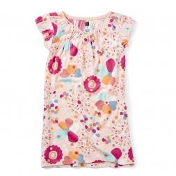 Natalie Wrap Neck Nightgown