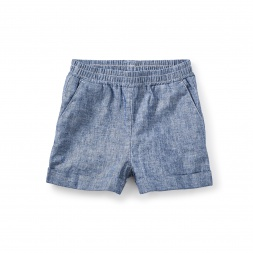 Citizen Chambray Cuffed Shorts