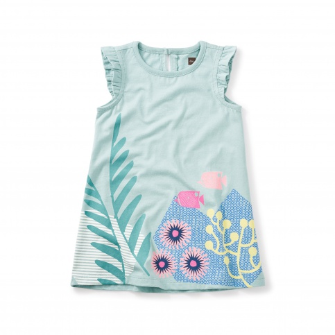 Ningaloo Graphic Baby Dress