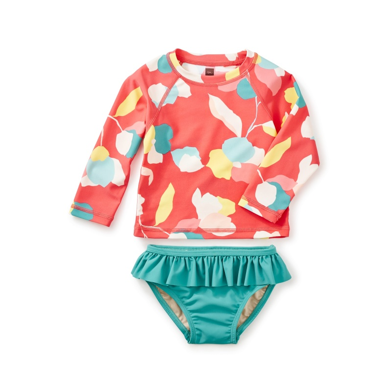 Passionfruit Baby Rash Guard Set