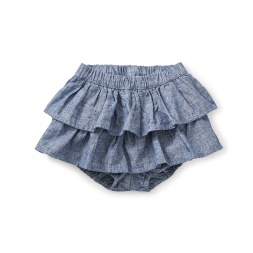Citizen Chambray Ruffled Bloomers