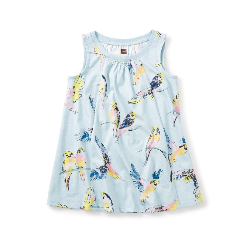 Lorikeet Trapeze Baby Dress