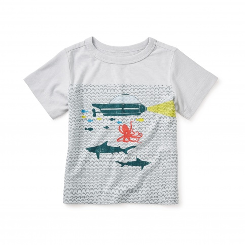 Aquanauts Graphic Baby Tee