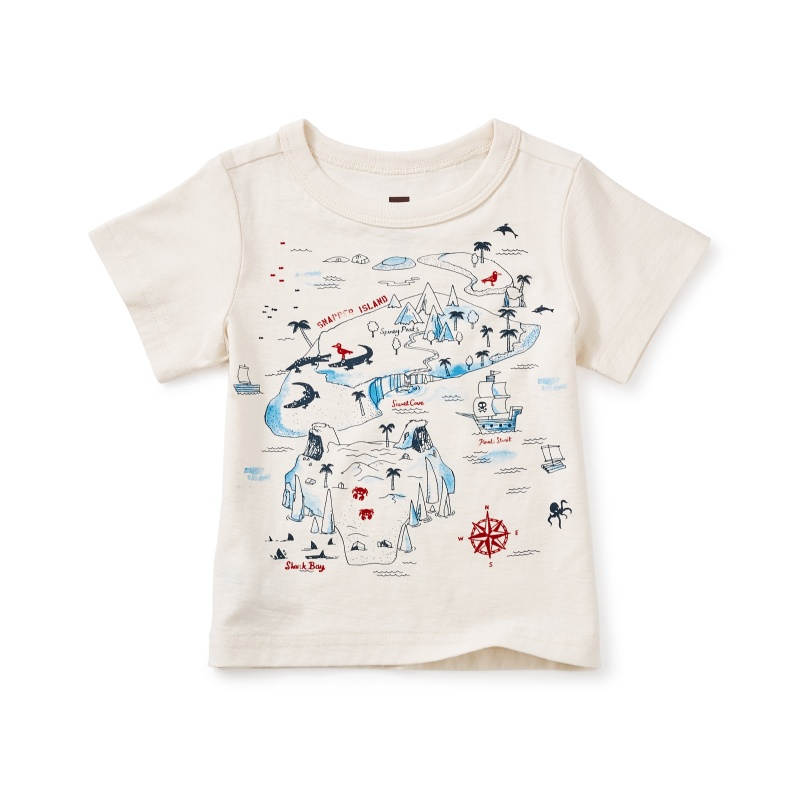 Snapper Island Graphic Baby Tee