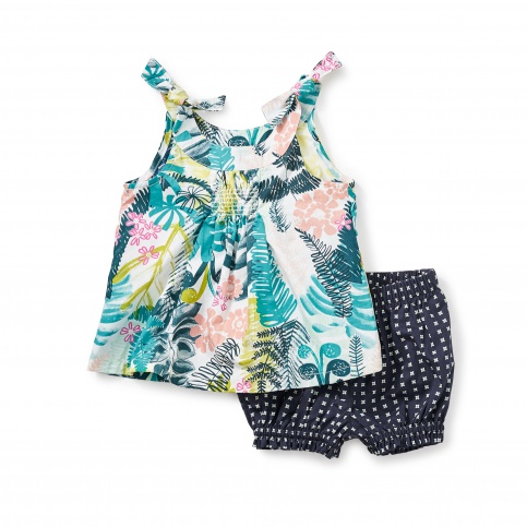 Botanical Baby Outfit