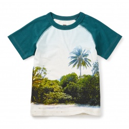 Cowie Beach Photoreal Tee