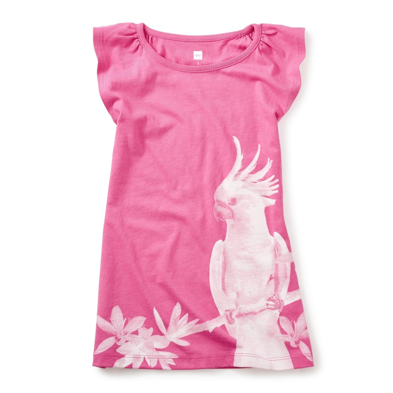 Cockatoo Photoreal Dress