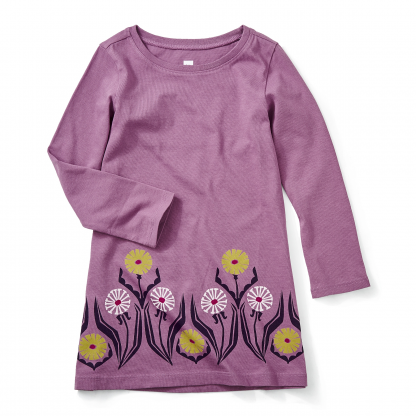 Germany Dandelion Graphic Dress
