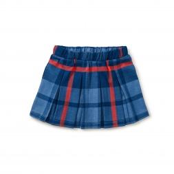 Tartan Pleated Skirt