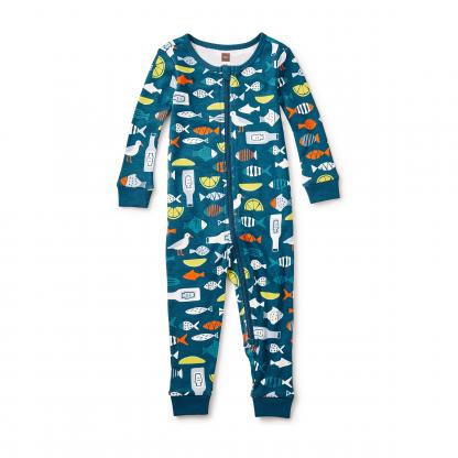Fish & Chips Baby Pajamas