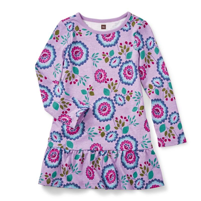 Bolivia Blooms Ruffle Dress