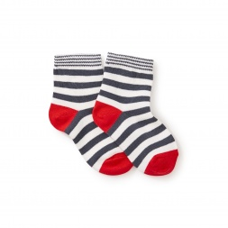 Stripe Uni Socks