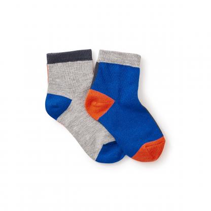Colorblock Socks
