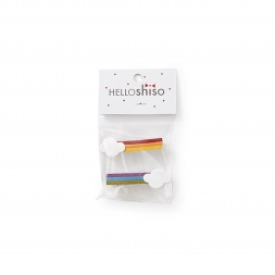 Hello Shiso Rainbow Hair Clips