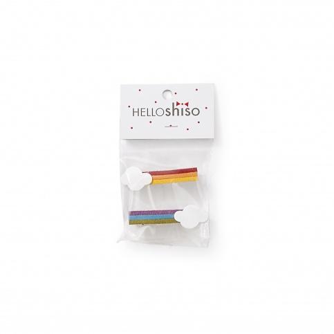 Hello Shiso Rainbow Hair Clips