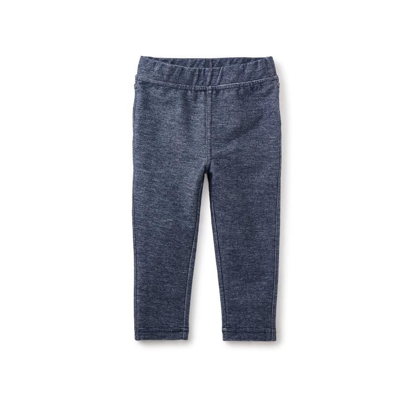 Stretch Denim-Like Baby Pant