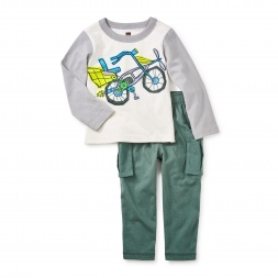 Flying Scot Baby Outfit