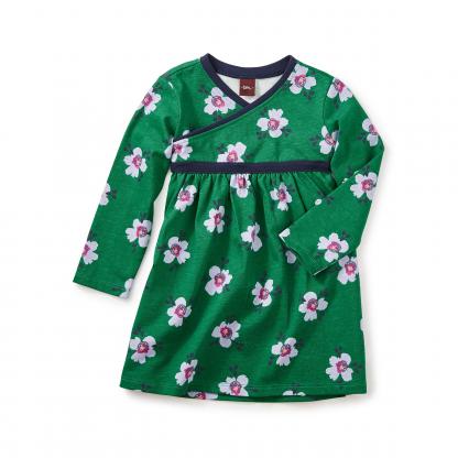 Kelvingrove Wrap Neck Baby Dress