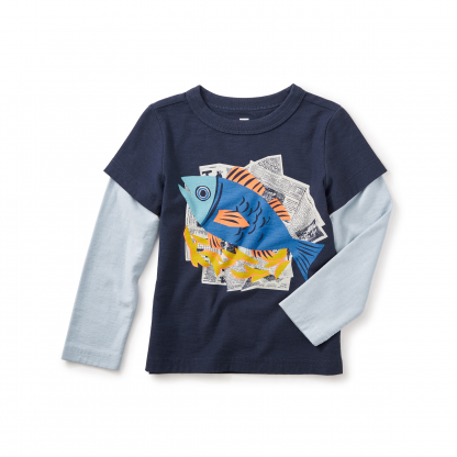Fish and Chips Graphic Tee