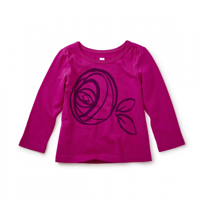 Mackintosh Rose Graphic Tee