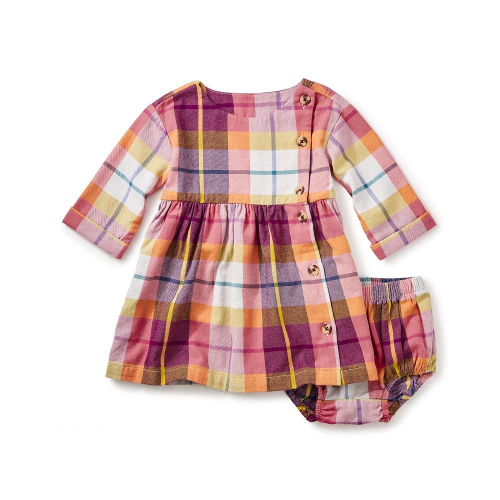 Faodail Flannel Baby Dress