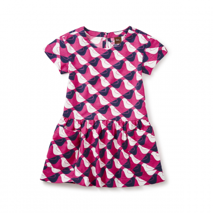 Argyle Birds Pocket Dress