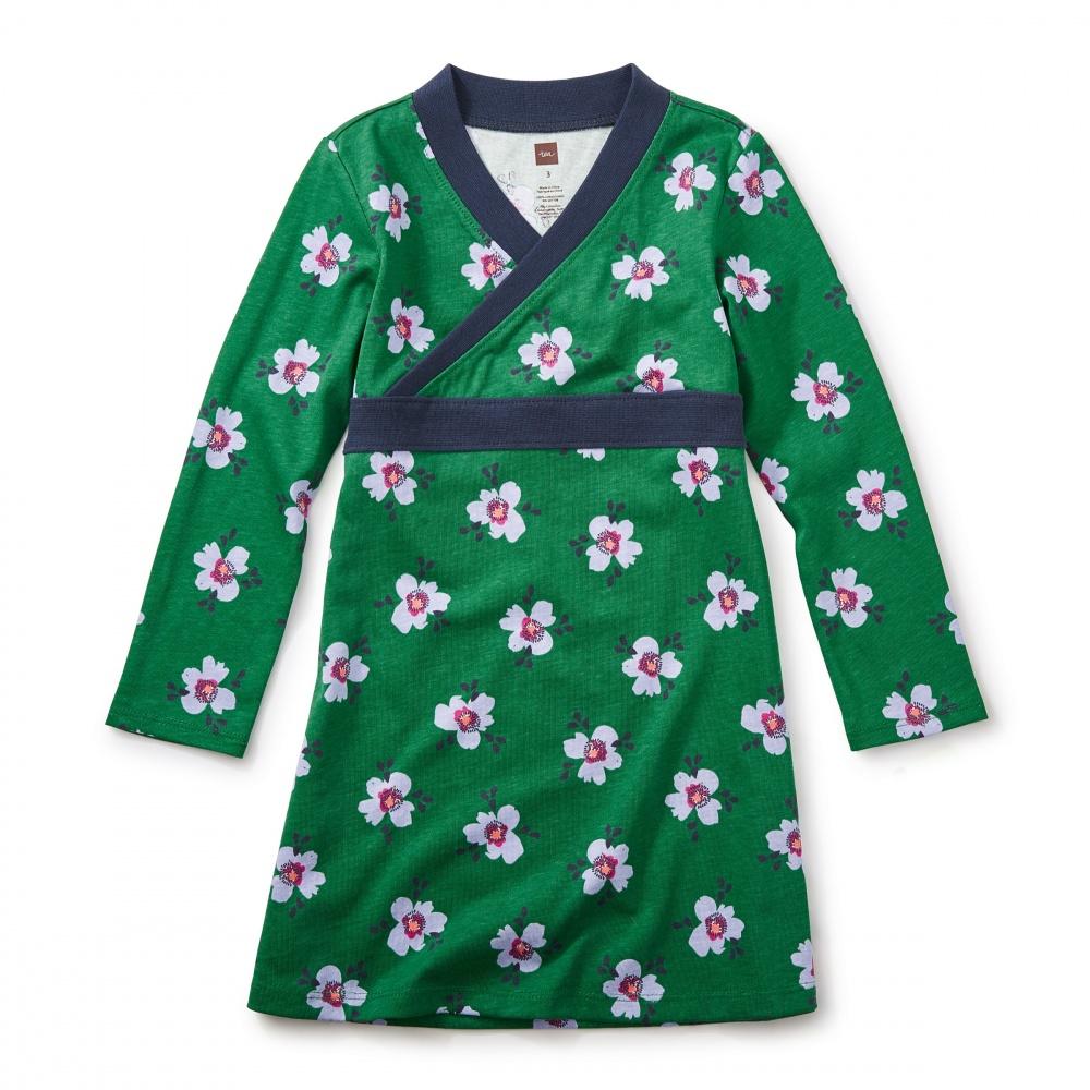 Kelvingrove Wrap Neck Dress