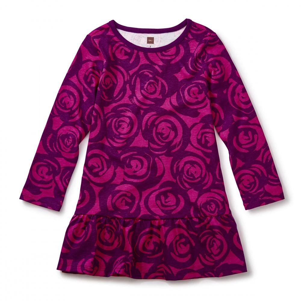 Rennie Rose Ruffle Dress