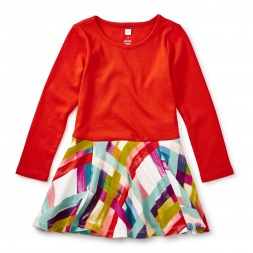 Plaid Skirted Dress