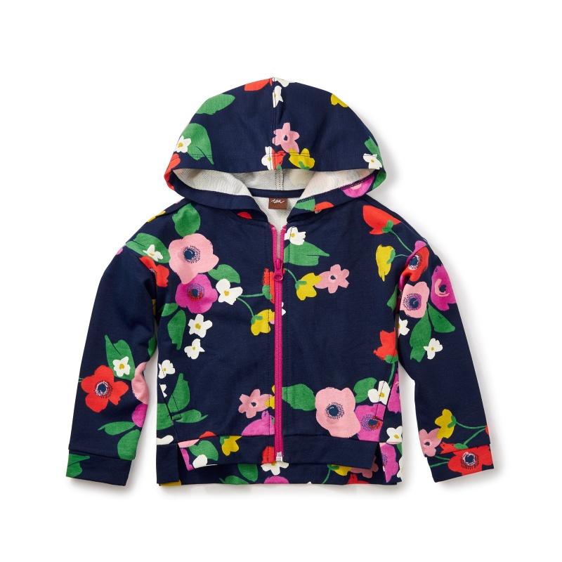 Scotland Garden Zip Hoodie
