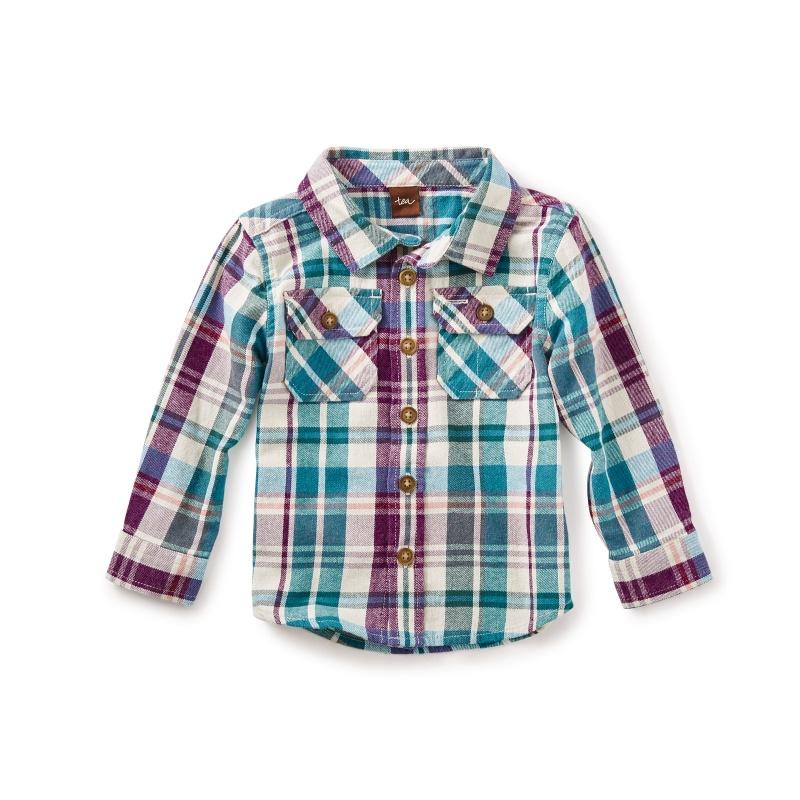 Beaufort Flannel Baby Shirt