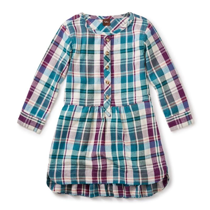 Applecross Flannel Shirtdress