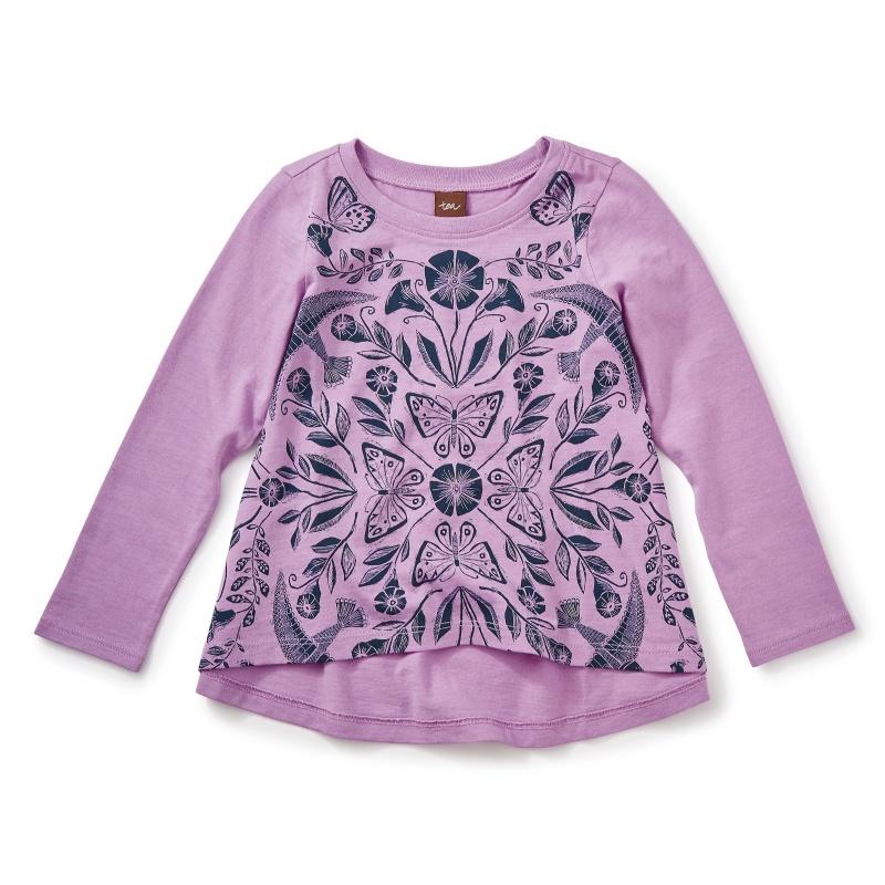 Marsh Violet Twirl Top